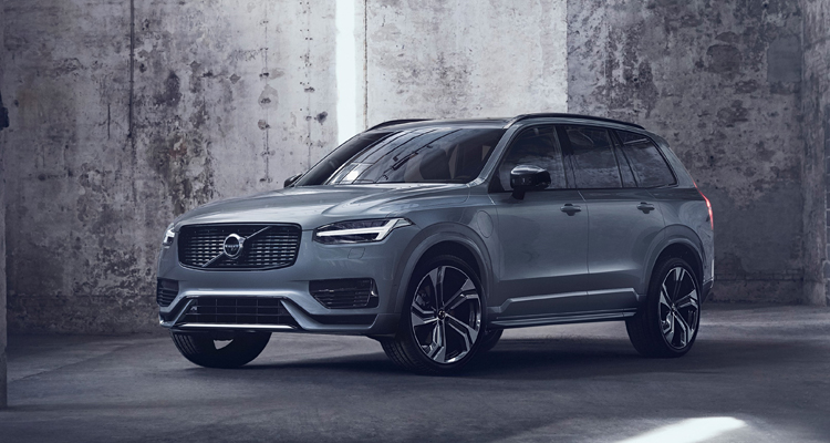 XC90 Recharge Plug-In Hybrid R-Design, in Thunder Grey